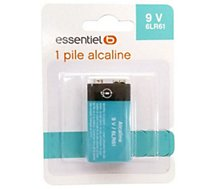 Pile Essentielb 9 Volts / 6LR61 / 6AM6