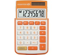Calculatrice standard Essentielb EC-8 Orange