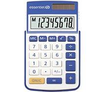 Calculatrice standard Essentielb EC-8 Bleu