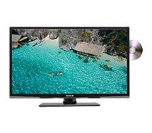 TV LED Essentielb  Velinio 24'' Combo DVD Noir