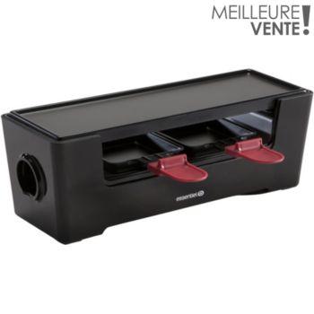 essentielb multiplug noire raclette fondue boulanger. Black Bedroom Furniture Sets. Home Design Ideas