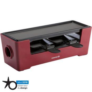 essentielb multiplug rouge raclette fondue boulanger. Black Bedroom Furniture Sets. Home Design Ideas