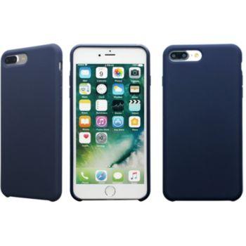 essentielb iphone 7 8 plus rigide velvet bleu nuit. Black Bedroom Furniture Sets. Home Design Ideas