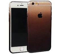 Coque Essentielb iPhone 6/6S souple dégradée noire