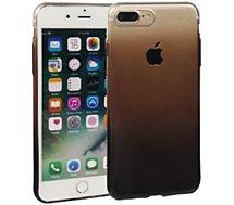 Coque Essentielb iPhone 7/8 Plus souple dégradée noire