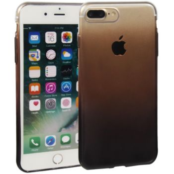 Essentielb iPhone 7/8 Plus souple dégradée noire