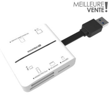 Essentielb de cartes USB 3.0
