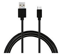 Câble micro USB Essentielb 2M Noir