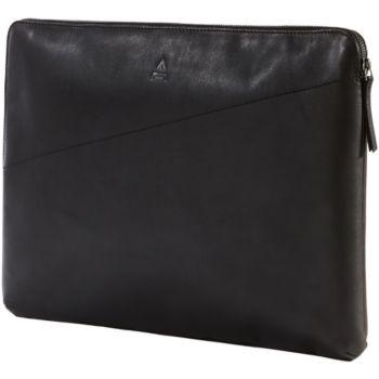 Adeqwat 10-12'' cuir noir Argent