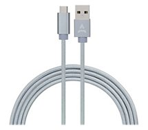 Câble USB C Adeqwat  2M Bleu clair