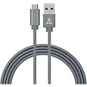 Câble micro USB Adeqwat 2M Anthracite