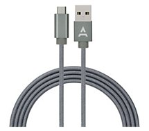 Câble micro USB Adeqwat  2M Anthracite