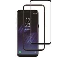 Protège écran Essentielb S8+ verre trempé 3D incurvé  + applicate