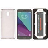 Pack Essentielb Samsung J3 2017 Coque + Verre trempé