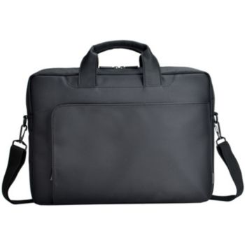 sacoche essentielb pocket 15-16' noir/bleu