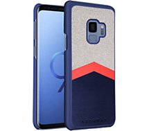 Coque Adeqwat Galaxy S9 Logo Grise