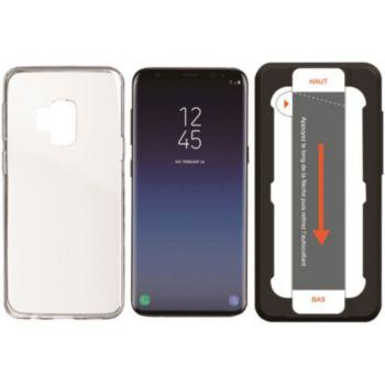 Essentielb Samsung S9 Coque + Verre trempé