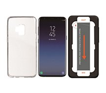 Pack Essentielb  Samsung S9+ Coque + Verre trempé