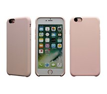 Coque Essentielb iPhone 6/6S rigide silicone rose