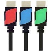 Câble HDMI Essentielb 3M Bicolor 1.4