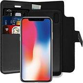 Etui Essentielb iPhone X/Xs 2 Détachable 2 en 1 noir