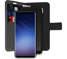 Etui Essentielb  Samsung S9 Détachable 2 en 1 noir