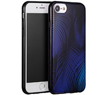 Coque Essentielb iPhone 6/7/8 Tropical bleu