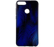 Coque Essentielb P Smart Tropical bleu