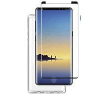 Pack Essentielb Note 9 coque + Verre trempé + Applicateu