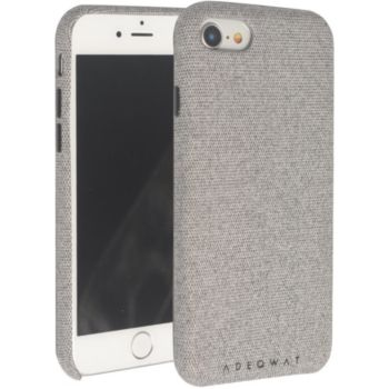 Adeqwat iPhone 7/8 Textile gris clair