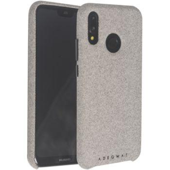 Adeqwat Huawei P20 Lite Textile gris clair