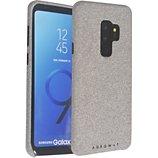 Coque Adeqwat  Samsung S9+ Textile gris clair