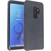 Coque Adeqwat Samsung S9+ Textile bleu foncé