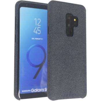 Adeqwat Samsung S9+ Textile bleu foncé