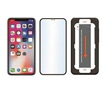 Protège écran Essentielb iPhone Xr verre trempé 3D + applicateur