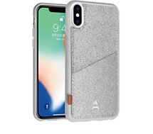 Coque Adeqwat  iPhone X/Xs Porte-carte Aimantée gris