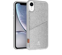 Coque Adeqwat  iPhone Xr Porte-carte Aimantée gris