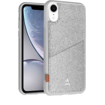 Adeqwat iPhone Xr Porte-carte Aimantée gris