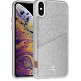 Coque Adeqwat  iPhone Xs Max Porte-carte Aimantée gris