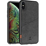 Coque Adeqwat  iPhone Xs Max Porte-carte Aimantée noir