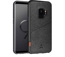 Coque Adeqwat  Samsung S9 Porte-carte Aimanté noir