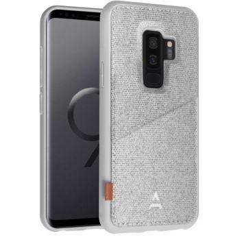 Adeqwat Samsung S9+ Porte-carte Aimanté gris