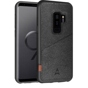 Adeqwat Samsung S9+ Porte-carte Aimanté noir