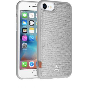 Adeqwat iPhone 7/8 Porte-carte Aimantée gris