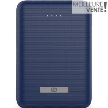 batterie externe essentielb 10000 mah  - mini bleu