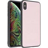 Coque Essentielb iPhone Xs Max Acrylique rose