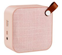 Enceinte Bluetooth Essentielb bluetooth Pop paradise rose