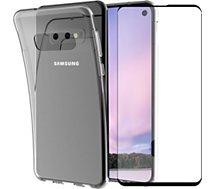 Pack Essentielb  Samsung S10 Coque + Verre trempé
