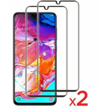 Essentielb Samsung A70 Verre trempé intégral x2