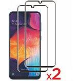 Protège écran Essentielb  Samsung A40 Verre trempé intégral x2